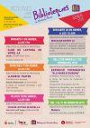 Cartell activitats joves i adults bibliotques gener 2018