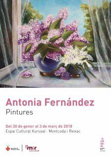 Exposició Antonia Fernández