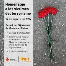 Homenatge a les víctimes del terrorisme