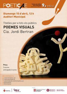 Titelles per a tots els públics 'Poemes visuals'