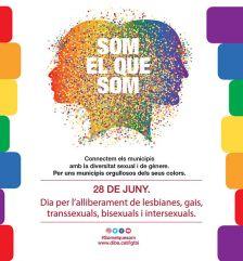 Exposició Dia Internacional de l'orgull LGTBI