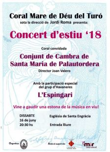 Concert d'estiu coral Mare de Déu del Turó