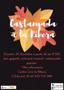 Castanyada a la Ribera