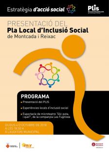 Presentació del Pla Local d'Inclusió Social