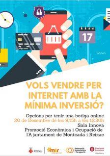 Vols vendre per internet amb la mínima inversió?