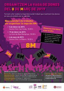 Reunió organització vaga de les dones del 8M