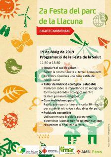 Programa d'activitats de la 2a Festa del Parc de la Llacuna