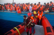 Imatge refugiats vaixell