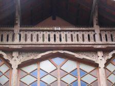 Detall de la Casa de les Aigües