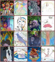 Dibuixos inspirats en el Festival Mira'MiR