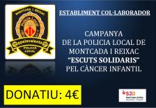 Campanya contra el càncer infantil 'Escuts solidaris'