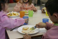 Un menjador escolar del municipi