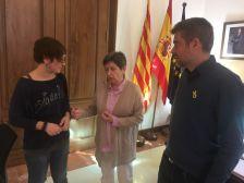 Reunió amb la delegada del Govern a Catalunya