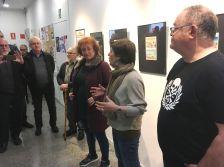 Inauguració de l'exposició l'Auca del soterrament
