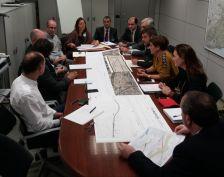 Reunió de la comissió tècnica de la redacció del projecte del soterrament octubre 2018