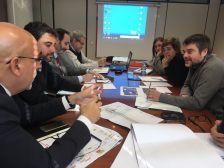 Segona reunió comissió estacions de tren