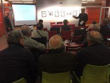 Reunió informativa sobre el Pla de barris de la Muntanyeta de Can Sant Joan