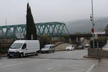 Control semafòric a l'avinguda de la Ribera
