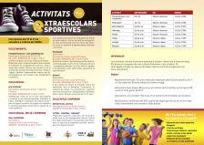 Activitats extraescolars esportives 2018-2019