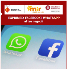 exprimeix facebook i whatsaap